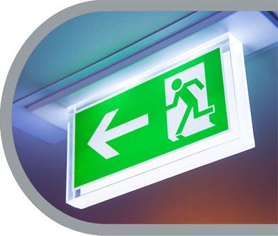 Fluchtweg-Beleuchtung - Notbeleuchtungen - Ihr Elektriker in Malters Luzern