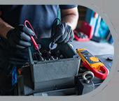 Geräte- und Maschinenprüfungen - Sicherheit Elektrogeräte